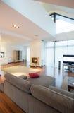 Skönhet möblerat hus Arkivfoton