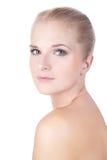 Skönhet modellerar flickaståenden Royaltyfri Foto