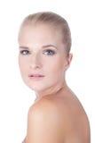 Skönhet modellerar flickaståenden Royaltyfria Bilder