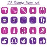 Skönhet- och makeupsymboler Royaltyfri Fotografi