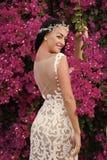 Skönhet och modebegrepp arkivfoto