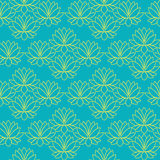Skönhetbakgrund med lotusblomma Royaltyfri Fotografi