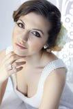 skönhetbrud Fotografering för Bildbyråer