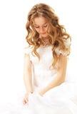 skönhetbrud Royaltyfri Fotografi