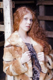 skönhetdörröppning Royaltyfria Bilder