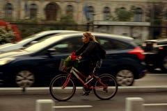 Skönheten av att cykla Royaltyfria Bilder