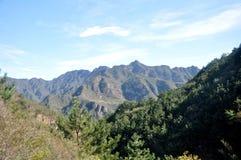Skönheten av berget Royaltyfria Bilder