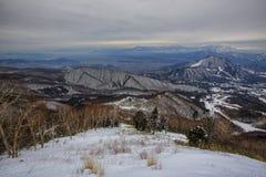 Skönheten av berget Arkivbilder