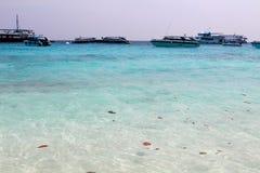 Skönheten av de Semilon öarna arkivfoton
