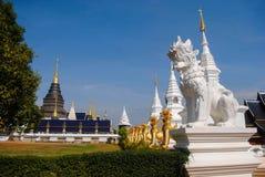 Skönheten av den heliga templet Arkivfoto
