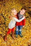 Skönheten av hösten Arkivfoto
