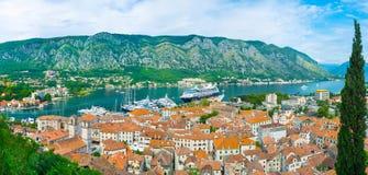 Skönheten av Kotor royaltyfria foton