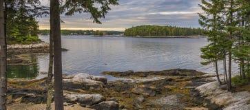 Skönheten av Maine Arkivbilder