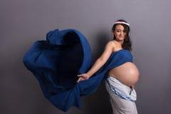 Skönheten av moderskap arkivbild