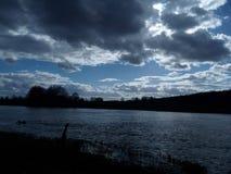 Skönheten av molnen Arkivfoton