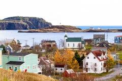 Skönheten av Newfoundland-Treenighet arkivfoto