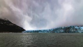 Skönheten av Peritoen Moreno Glacier arkivfoton