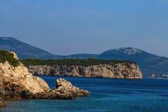 Skönheten av Sardinia Arkivbilder