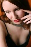 skönhetframsida Royaltyfria Bilder