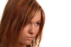 skönhetframsida Fotografering för Bildbyråer