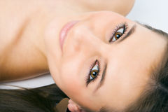 skönhetframsidakvinna Royaltyfria Foton