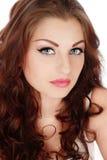 skönhetkattögon Fotografering för Bildbyråer