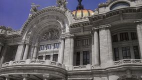 Skönhetkonstslott Mexiko Arkivbild