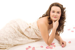 skönhetkvinna Fotografering för Bildbyråer