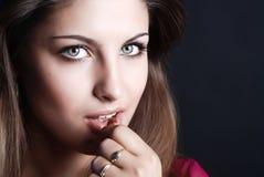 skönhetkvinna Royaltyfri Foto