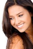 skönhetkvinnligstående Fotografering för Bildbyråer