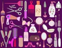 Skönhetobjekt stock illustrationer