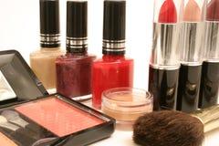 skönhetprodukter Arkivbild