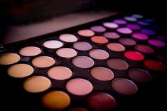 Skönhetsmedel för ögonskugga Fotografering för Bildbyråer