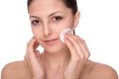 Skönhetsmedel och makeup Fotografering för Bildbyråer