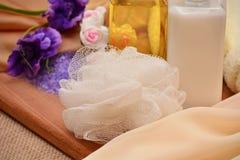 Skönhetsmedel och utrustning för brunnsort Royaltyfria Bilder