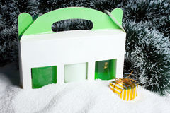 skönhetsmedel som packar set snow Royaltyfria Bilder