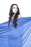 Skönhetstående av den unga härliga flickan Royaltyfri Fotografi