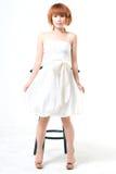 skönhetståendekvinna Royaltyfri Fotografi