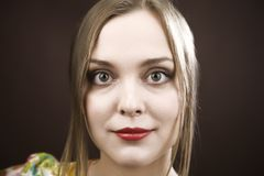 skönhetståendekvinnor Arkivfoton
