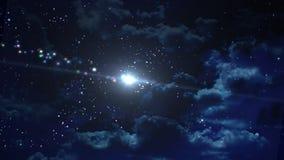 Skönhetstjärnabakgrunden Arkivbild