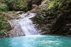 Skönhetvattenfall Arkivfoton