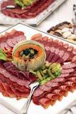 sköta om den kalla maträtten Royaltyfri Foto
