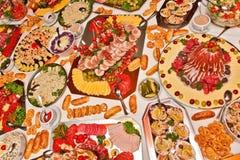 sköta om mat Arkivbild