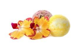 Skąpanie kwiaty i bomby zdjęcie royalty free