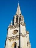 SKĄPANIE, SOMERSET/UK - PAŹDZIERNIK 02: Steeple St Michael kościół Obrazy Stock