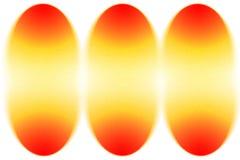 skład Easter żółty czerwony jajko abstrakta tło Zdjęcia Stock