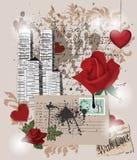 skład miłość royalty ilustracja