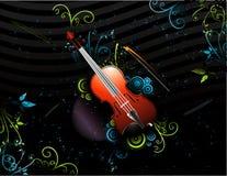 skład muzyki wektora Obrazy Royalty Free