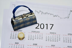 Skład robić rok planom Obrazy Stock