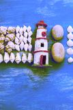 Skład set skorupa kamieni otoczaków jeża tła kopii gwiazdowe drewniane stare szarość będąca ubranym przestrzeń Obraz Royalty Free